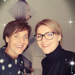 Christmas Styling Bruch @WELLA Studio Zürich Irene Heggli und Andrea Kündig