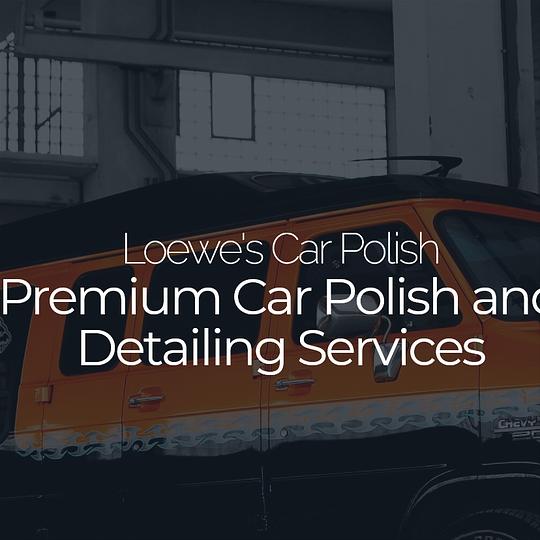Loewe's Car Polish