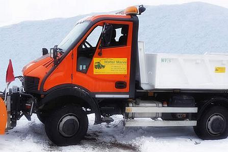 Servizi con betoniera e sgombero neve