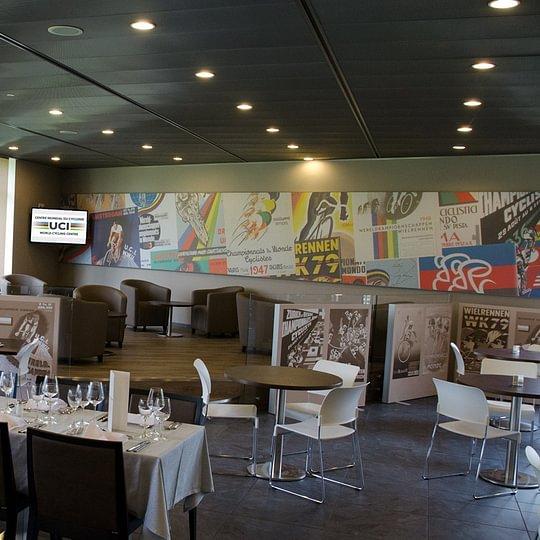Le Vélodrome - Aigle - Restaurant