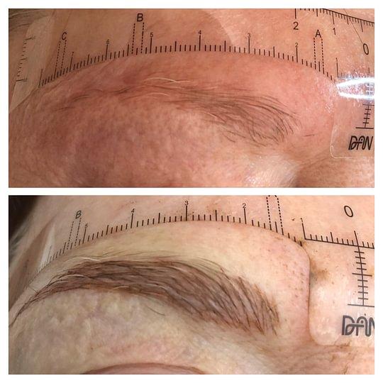Maquillage permanent et Microblading pour les blondes