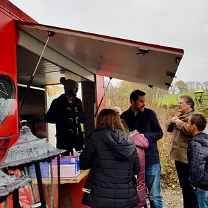 Food truck du CFPS Les Peupliers à Le Mouret