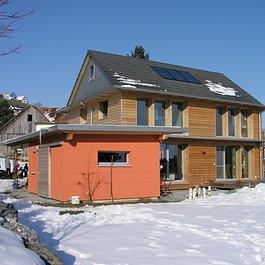 Neubau Einfamilienhaus in Passivhaus-Standard