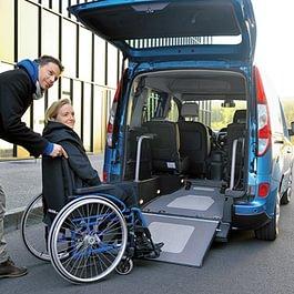 Transports personnes à mobilité réduite