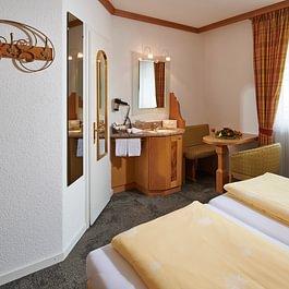 Familienzimmer 3 Personen Doppelbett, Central Hotel Wolter Grindelwald