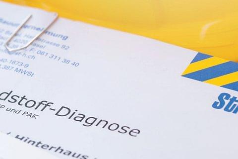 Schadstoffdiagnosen & Schadstoffberichte