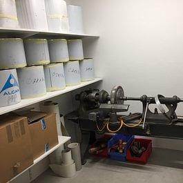 Werkstatt -  Schlebach AG Trommelbau