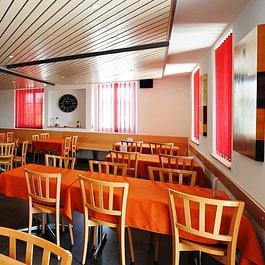 Vue intérieure du restaurant