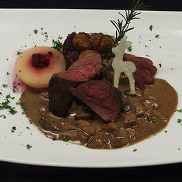 Restaurant Sonne  Hirschfilet