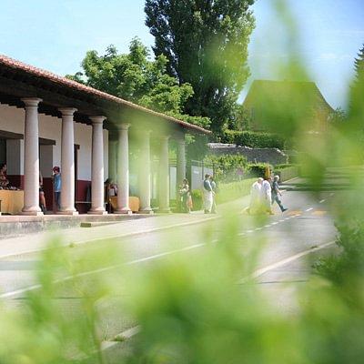 Die stimmungsvolle Villa von Augusta Raurica.