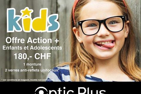 Offre Action + Enfants et Adolescents
