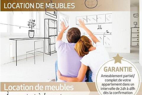 LOCATION DE MEUBLES