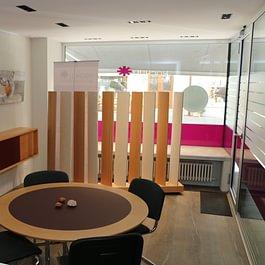 Innenansicht, Beratungsbüro Aarau