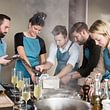 Teamevents mit roh & nobel in der Kochschule in Rüfenacht
