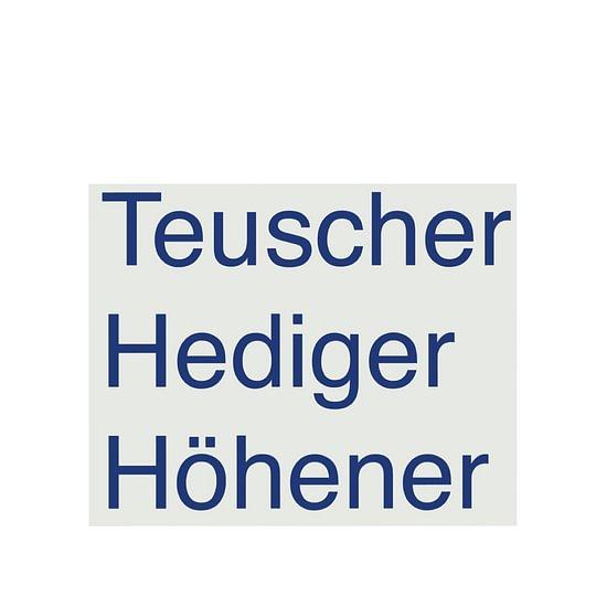 Teuscher Hediger Höhener Rechtsanwältinnen