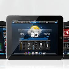 Application domotique tablette