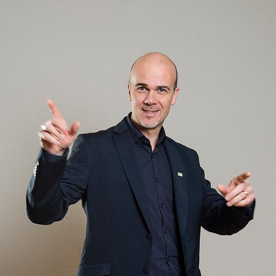 Marc Vancampenhout, chef de projets, gérant