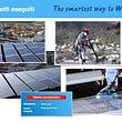 Pulizia pannelli solari - Mister Smart Wash - Bellinzona - Ticino