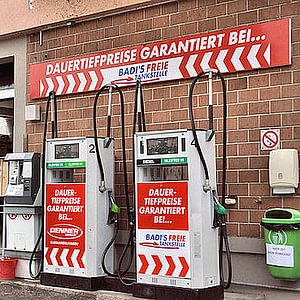 Badertscher - Freie Tankstelle, 8466 Trüllikon