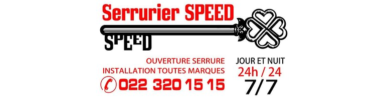 SERRURIER SPEED GENEVE 24/24