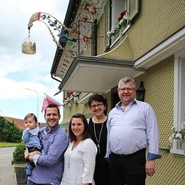 Die Gastgeberfamilie Schneider