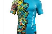 CRAZY IDEA T-Shirt Sky Run-Trail Print Man V22-Psycho