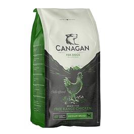 Canagan Free-Run Chicken cibo naturale per cani prodotto in Inghilterra, con ingredienti selezionati e adatti al consumo umano e senza cereali