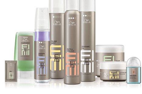 Unsere Firma arbeitet mit Produkten von Wella