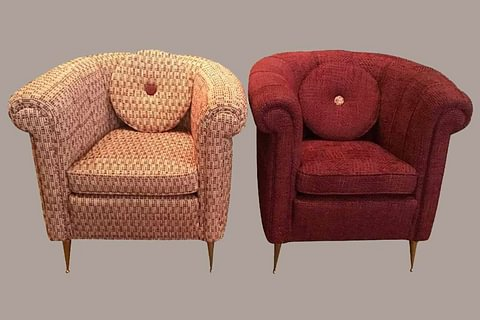 Vintage Armchairs, Italy, 1940s
