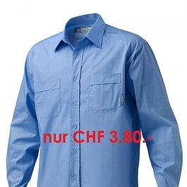 Hemden/Bluse waschen und bügeln ab 3.80 CHF/Stk.