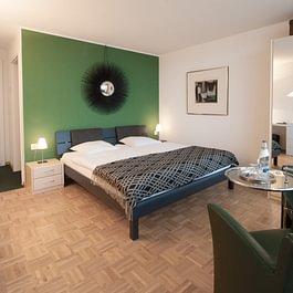 Eines von 9 einzigartig eingerichteten Hotelzimmern