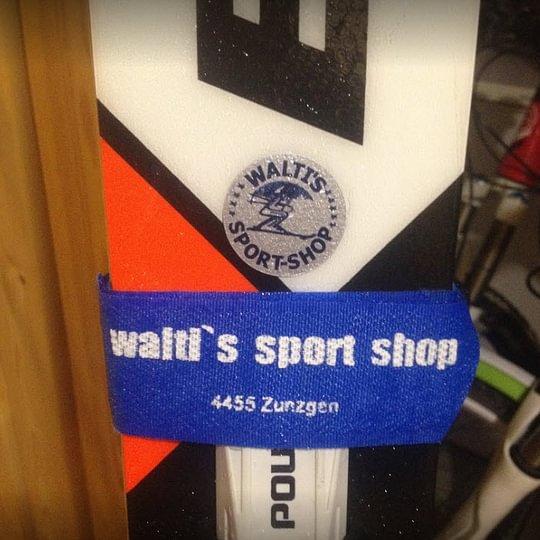 Walti's Sport-Shop, Walter Fri