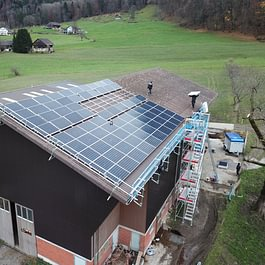 Mons Solar AG, Diepoldsau - Photovoltaik Montagearbeiten