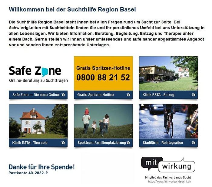 Suchthilfe Region Basel (SRB)