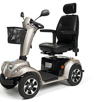Ein, vom Reha-Huus GmbH, oft verkaufter Klassiker: Der Carpo 4 Scooter