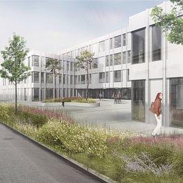 collège des Rives, Yverdon-les-Bains VD - concours 2ème prix