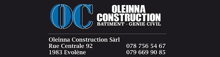 Oleinna Construction Génie Civil Sàrl