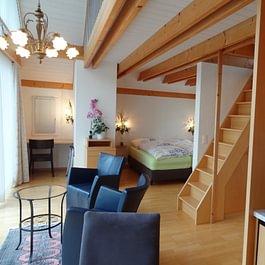Hotelzimmer im Landhaus