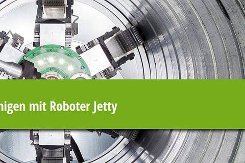 Roboter Jetty – Umweltfreundlich und effektiv