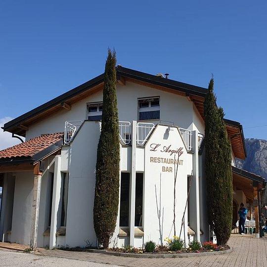 La façade Restaurant L'Argilly
