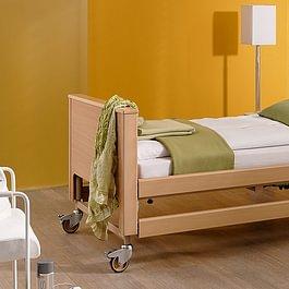 Das Reha-Huus GmbH bietet auch Pflegebetter an! Hier: Pflegebett Arminia III