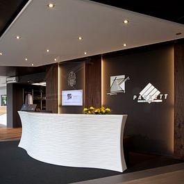 Empfangstheke, KÄPPELI AG, Küchen- und Raumdesign