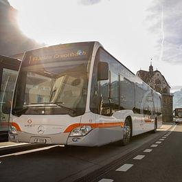 Linienverkehr, Hauptlinie (Mercedes Citaro Hybrid)