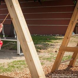 Giardiniere Lugano progettazione e costruzione parco giochi per bambini Giardini Fioriti