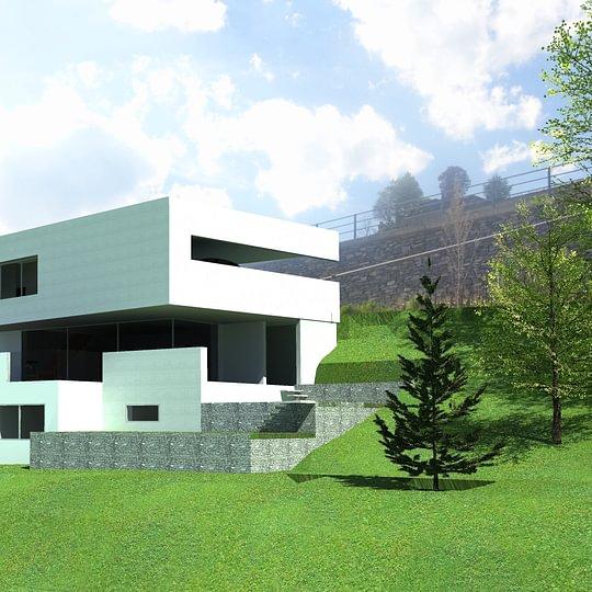 projet d'une maison à Sion