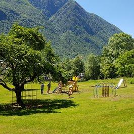 il nostro nuovo parco giochi completamente rifatto