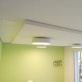 Plafond acoustique - Menuiserie-Agencement Eloi Bosson