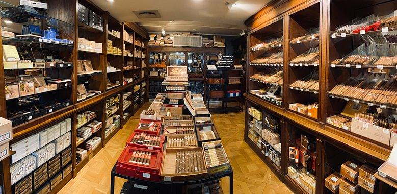 Rhein Cigars walk-in humidor