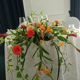 Centro tavolo sposi