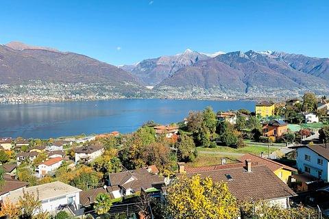 Piazzogna-Gambarogno Terreno con progetto per palazzina in vendita